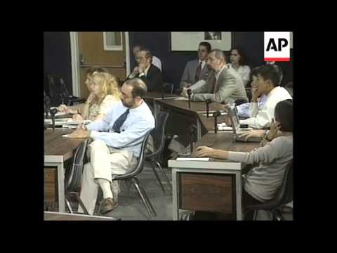 USA: STATE DEPARTMENT CHINA MISSILE PRESS BRIEFING