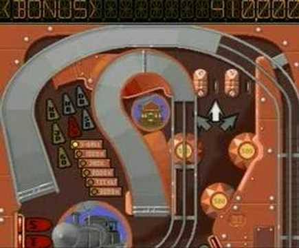 Commodore Amiga Games - Pinball Dreams [Steel Wheels]