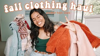 Fall Clothing Haul 2018 try-on :)
