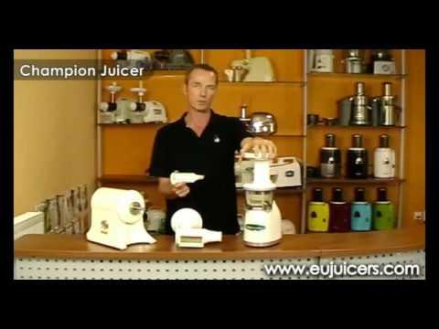 Champion Juicer vs. Omega VRT330 - part 1