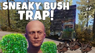 RUST   SNEAKY BUSH TRAP BASE! *Easiest MOST EFFECTIVE Trap*