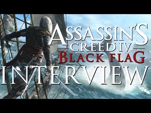 ASSASSIN'S CREED IV: Black Flag First Details! Adam Sessler Interview on Gameplay. Story. and More!