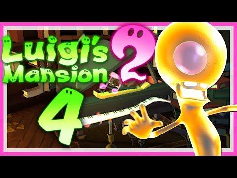 LUIGI'S MANSION 2 # 04 👻 Klaviertastengeklimper in der Bibliothek! • Let's Play Luigi's Mansion 2