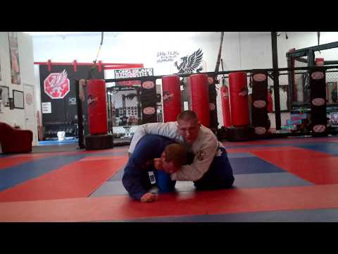 Frank the white belt lapel choke from turtle guard Image 1