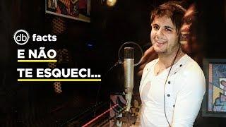 Cristiano Araújo gravando voz da música 'Maus Bocados' - Vip facts
