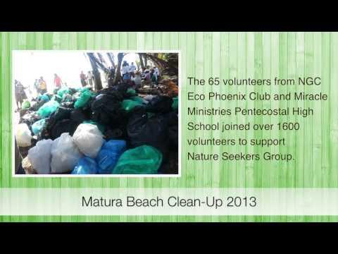 Matura Beach Cleanup