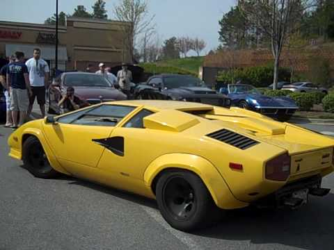 lamborghini countach 5000 sound with ansasport exhaust diy reviews. Black Bedroom Furniture Sets. Home Design Ideas