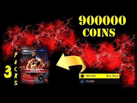 UFC 2 3-PACKS 300K COINS  900000coins!!!!(Там будет 3 пака и +фото 4ого пакетика)