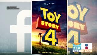 Primer tráiler y nuevo póster de Toy Story 4   Noticias con Francisco Zea