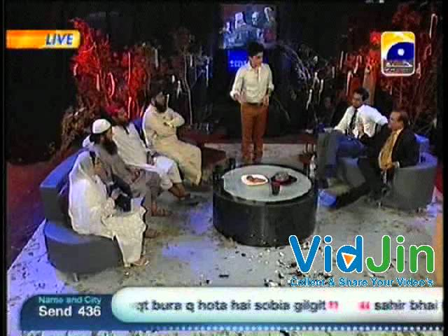 Sahir Lodhi Making People Fool Humzad Ka Jinn in Sahir Lodhi Live Show
