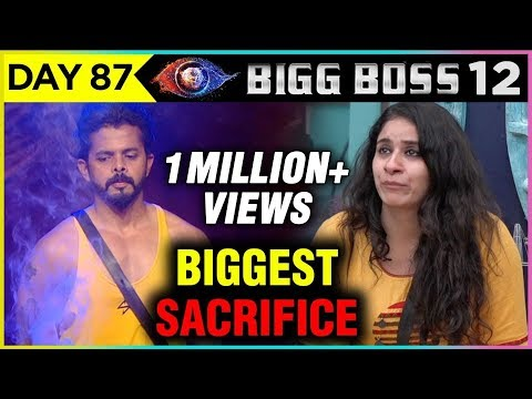 Surbhi Rana BIGGEST SACRIFICE For Sreesanth   Bigg Boss 12 Full Episode Update thumbnail