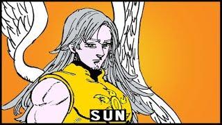Archangel Mael's Sun Grace Explained | The Seven Deadly Sins