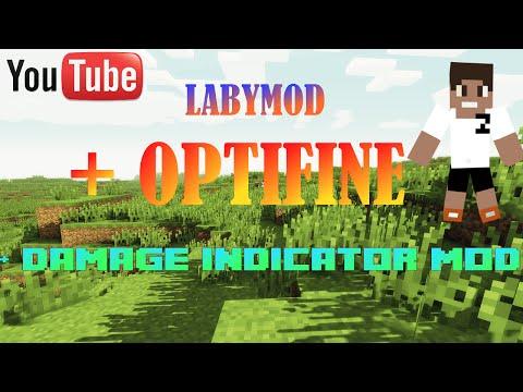 Labymod+Optifine+Damage Indicator Mod installieren - Tutorial (HD) deutsch