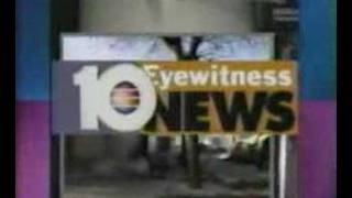 WPLG-TV Dwight Lauderdale & Diane Magnum Anchor 1994