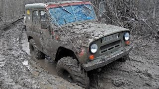 УАЗ vs НИВА vs Land Rover Defender vs Opel Frontera vs УАЗ Буханка vs Луаз vs ARO [Off-Road 4х4]
