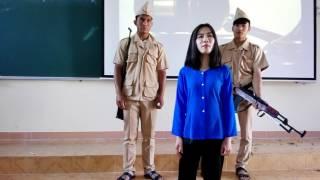 """Kịch :"""" Biết ơn chị Võ Thị Sáu """" Đại học Đà Lạt LHK39A"""
