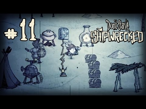 Don't Starve: Shipwrecked Прохождение: #11 - Сезон Ураганов!