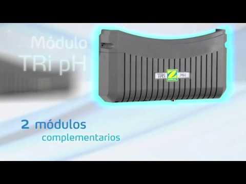 Clorador salino Zodiac TRI Pro, tratamiento de agua de piscina por electrólisis salina.