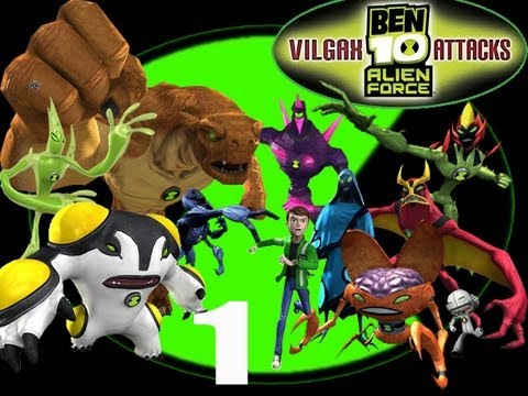 Let's Play Ben 10 Alien Force: Vilgax Attacks #1 - The Invasion of Earth