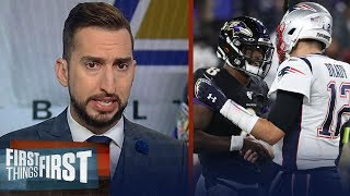 Ravens win shows Lamar's time is now & Brady's time appears to be fading | NFL | FIRST THINGS FIRST