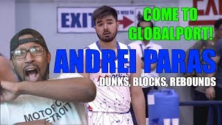 KOBE PARAS BROTHER IS AMAZING! ANDRE PARAS BASKETBALL HIGHLIGHTS REACTION!
