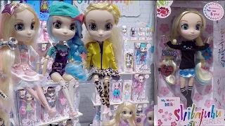 New York Toy Fair 2017 Shibajuku Girls Dolls Booth Tour Doll Collection Video