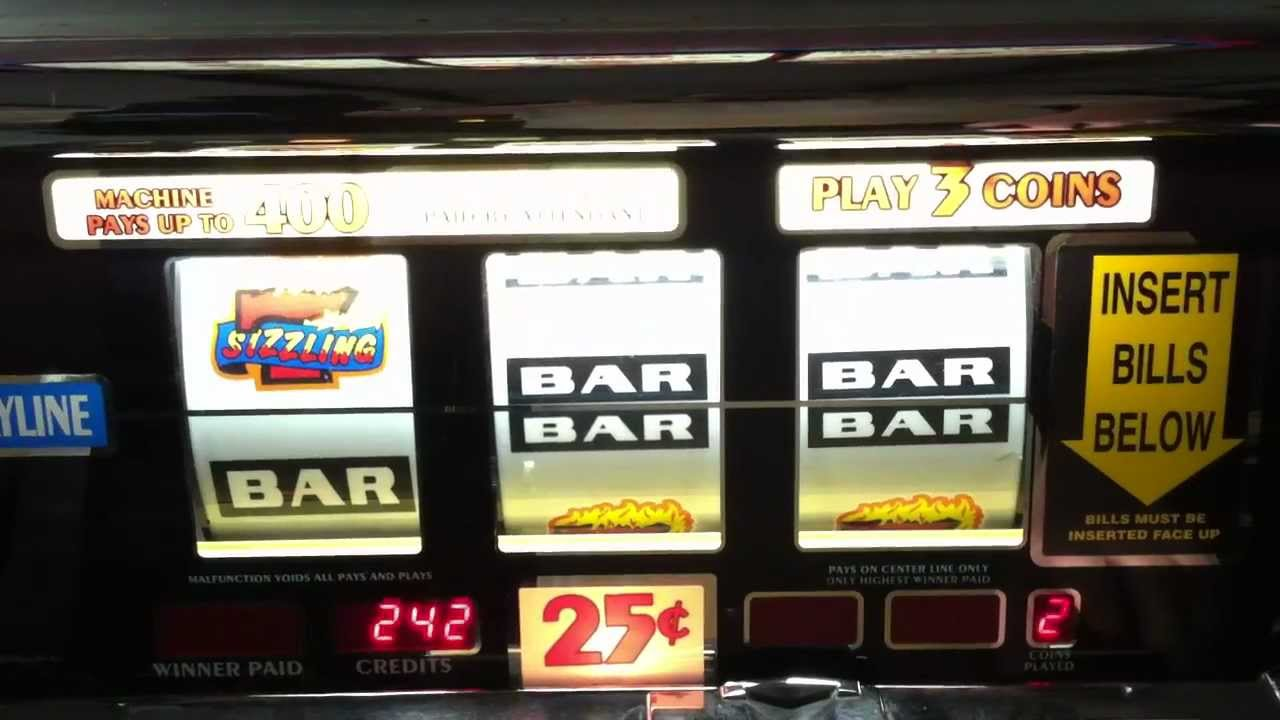 play sizzling 7 slot machine