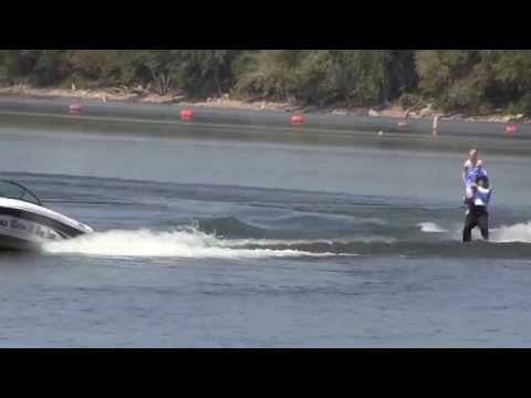 Emily and Cam's Strap routine at Central Region Water Ski Show Tournament 7 14 12