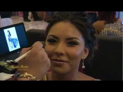 Pasarela de Peinado y Maquillaje Expo 2012 de Novias y XV Años, Karla Rubio Salón de Belleza