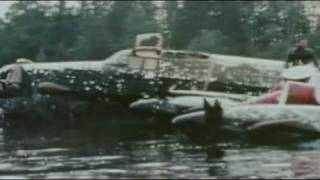 Tallboy bomb  from attacking Tirpitz.