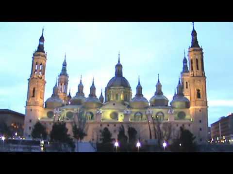 Cuando el Ebro besa el Pilar. Zaragoza