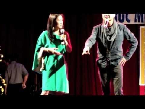 Quang Minh Hồng Đào III, 2 top comedians, Canada, 2012