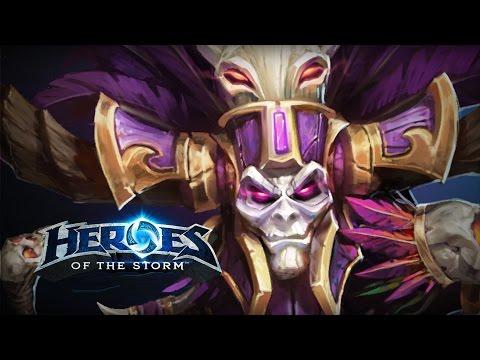 ♥ Heroes of the Storm - NAZEEEEEBO (HotS Gameplay)