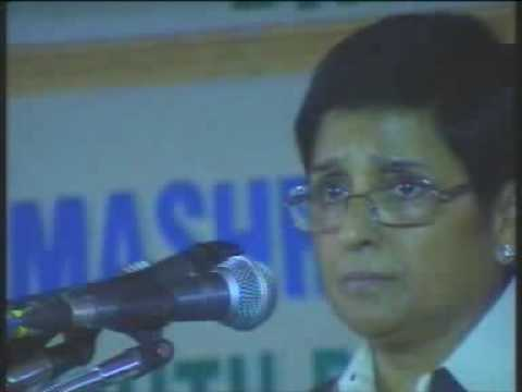 Youth Convention Dr.kiran bedi speech part 4
