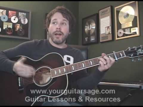 Guitar Lessons - Every Mile a Memory by Dierks Bentley PART 1 - cover Beginners Acoustic songs Video