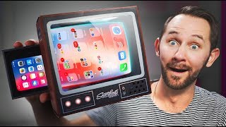 Turn Your Smartphone Into A TV! | 10 Ridiculous Tech Gadgets