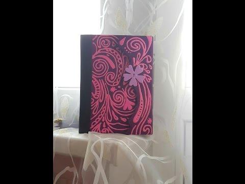 Рисунки, узоры и шаблон дневника Виолетты из сериала (фото)