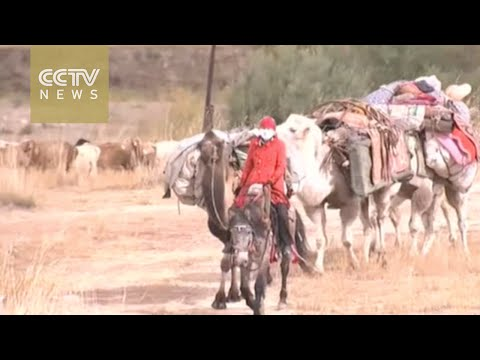 The changing lifestyle of Kazakh herders in Xinjiang