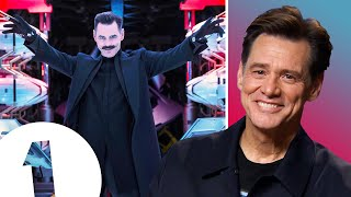 """I'm very hip-centric!"" Sonic's Jim Carrey on his Dr. Robotnik dance moves."
