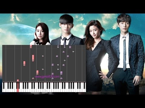 Hyorin - Hello, Goodbye (My Love From The Stars OST)(Piano)