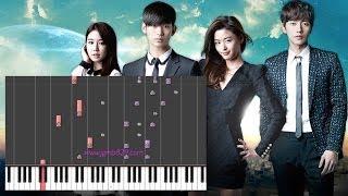 Hyorin - Hello, Goodbye (My Love From The Stars OST)(Piano)