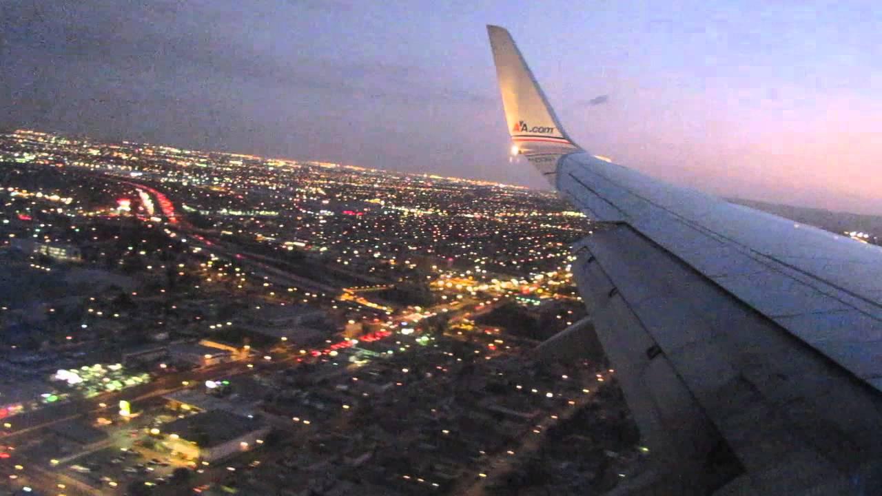 American Airlines Flight 2461 Landing Dallas Dfw Lax Los