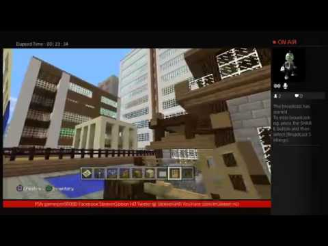 Minecraft Playstation 4 Edition Broadcast 10