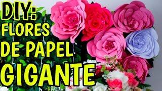 DIY: FLORES DE PAPEL GIGANTE ♥ - Bruna Paula #BRUTODODIA22