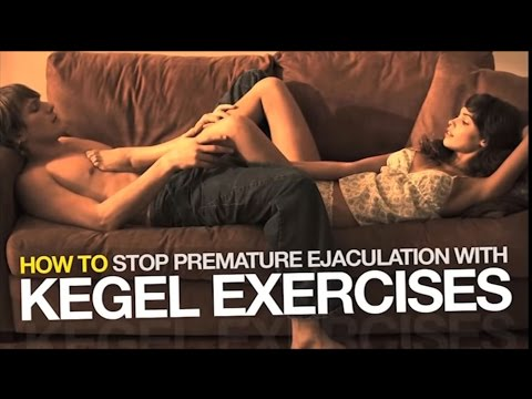 Kegel Exercises For Men - How To Last Longer in Bed - YouTube