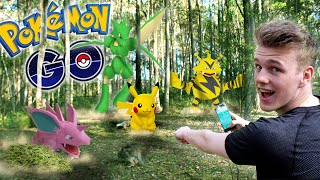 POKEMON GO IN THE SAFARI JUNGLE!