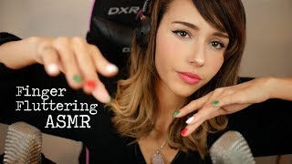 ASMR Fluttering Fingers to Reduce Stress & Anxiety ~ whispering you to relax ~