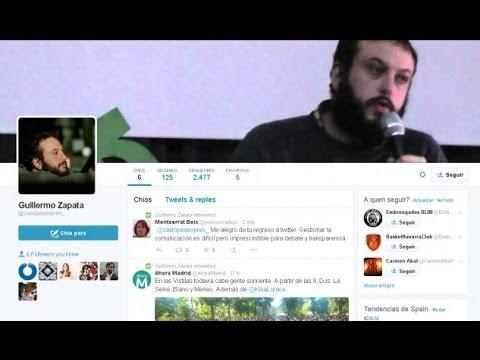 Polémicos tuits de Guillermo Zapata, concejal de Ahora Madrid
