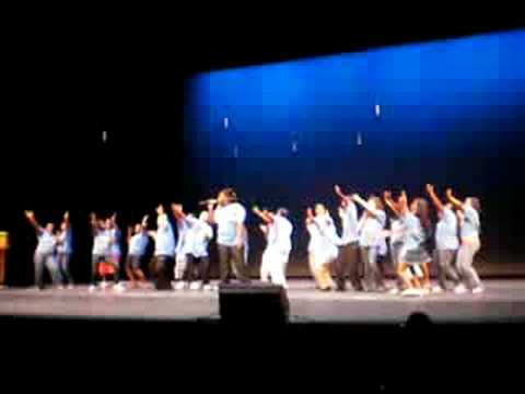 Me singing fourth at final performance Usher Camp New Look
