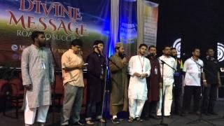মুনা কনভেনশন 2015 নিউ ইয়র্ক  তারেক মনোয়ারের গান